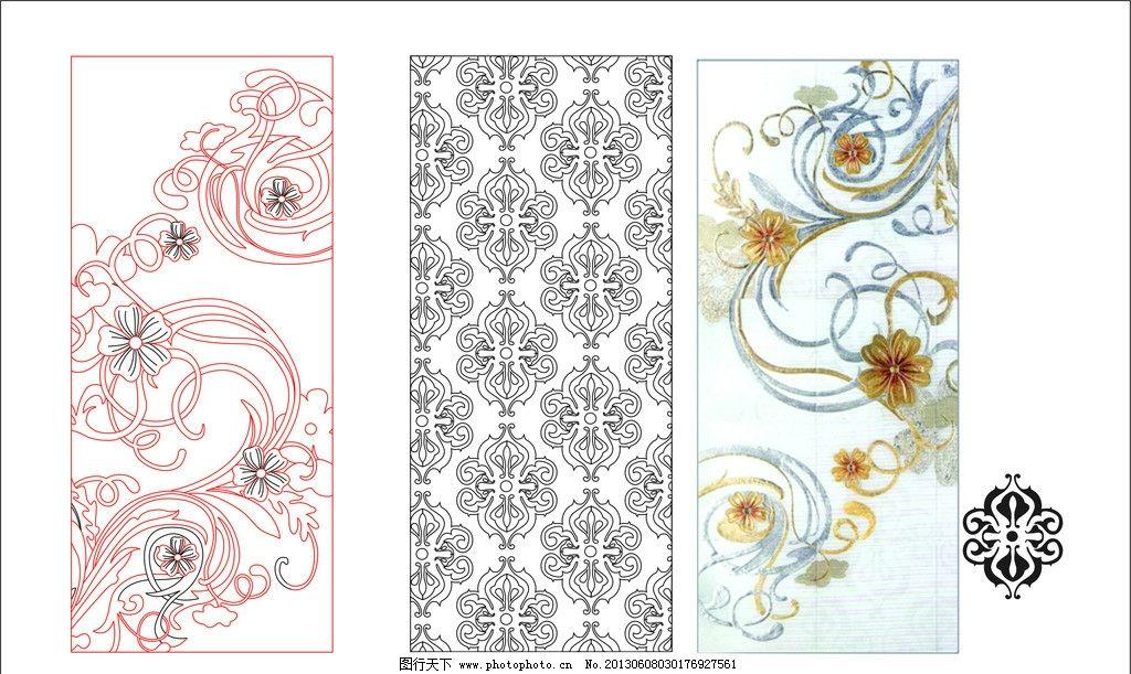 白描 国画 水墨 抽象 罗马 花纹 古典 欧式 现代 装修 娱乐 餐厅 酒店图片