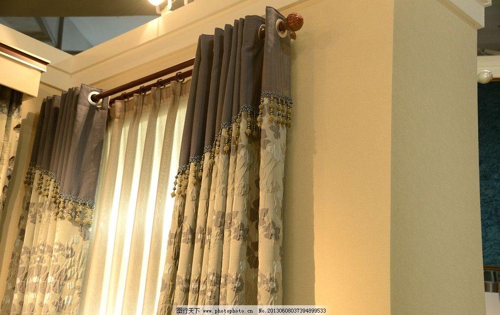 斜窗窗帘做法_窗帘 欧式窗帘 窗轨 罗马杆 家居生活 生活百科 摄影