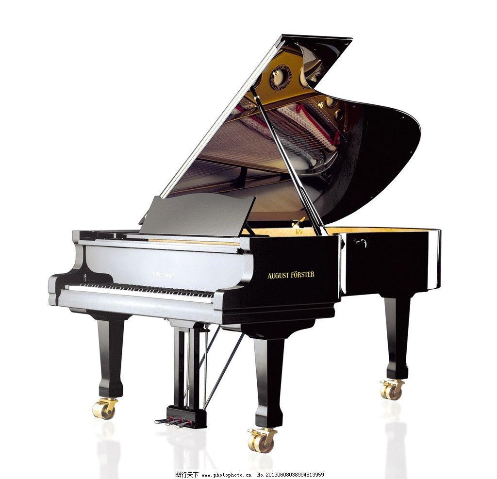 钢琴手绘线描好看