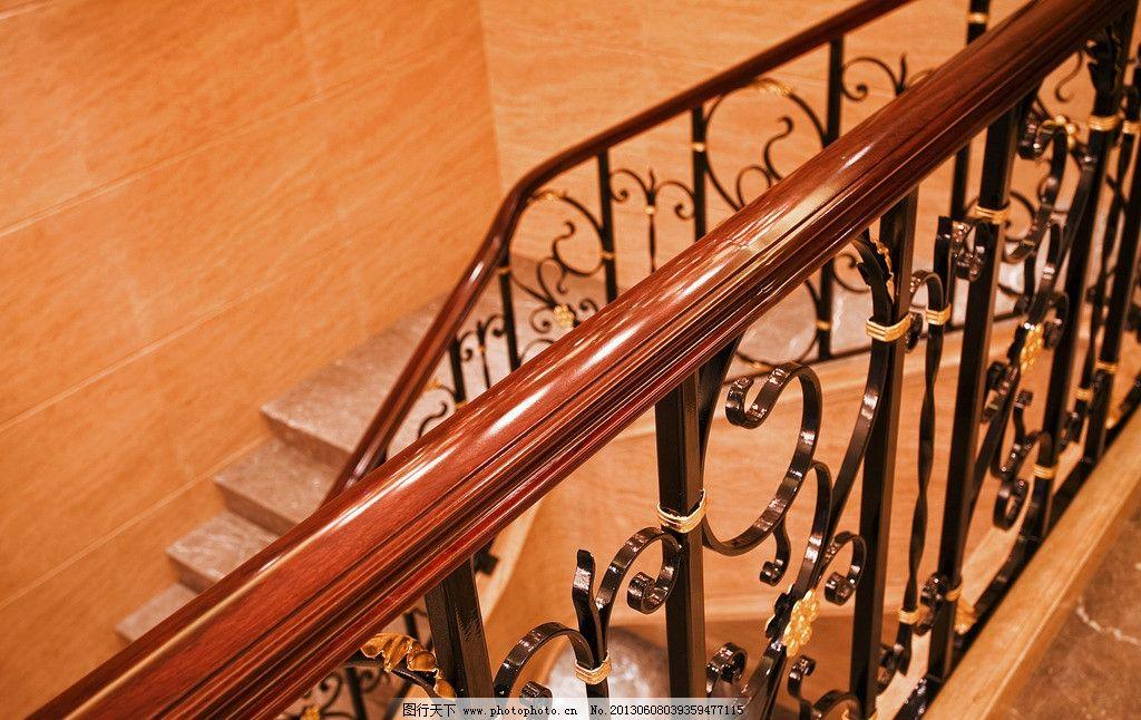 豪宅楼梯扶手 高档石材