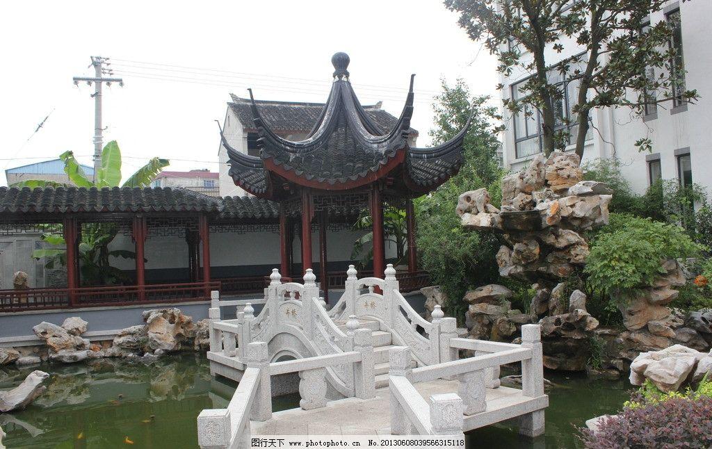 亭子 假山 园林 苏州 园林建筑 建筑园林 苏州园林 园林艺术 摄影 72d