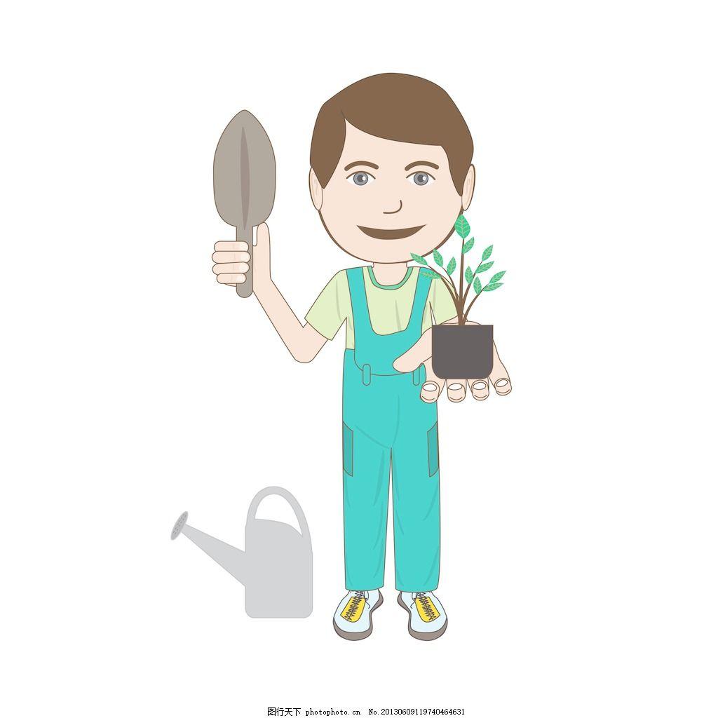q版手绘第五人格园丁
