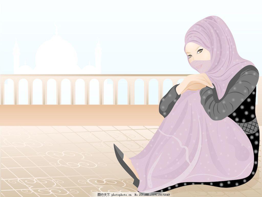 美丽的穆斯林女孩2图片