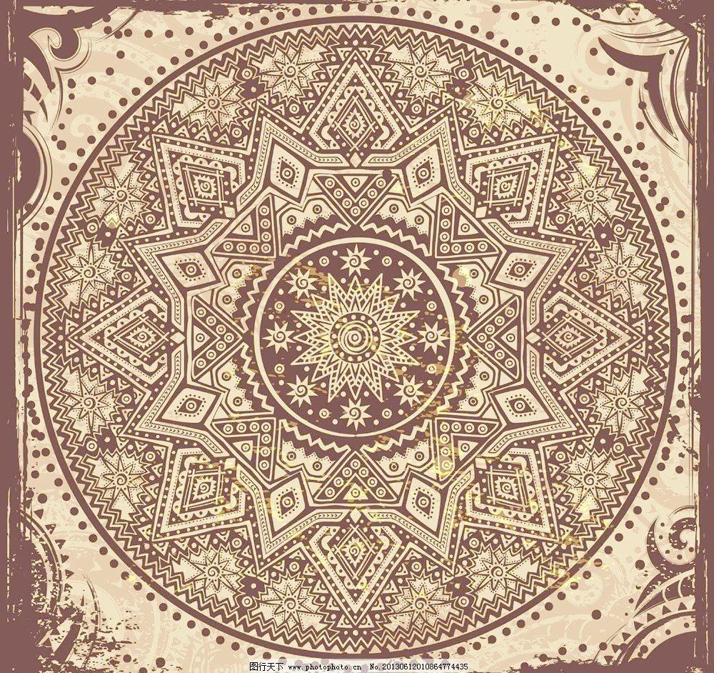 复古 欧式花纹矢量素材 欧式花纹模板下载 欧式花纹 欧式古典花纹