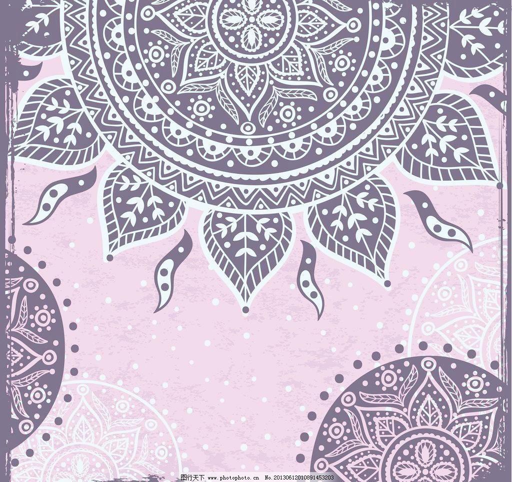 欧式花纹矢量素材 欧式花纹模板下载 欧式花纹 欧式古典花纹 图腾