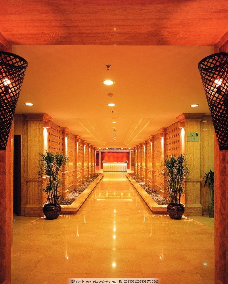 走廊 优山美地 会所 欧式 售楼处 室内摄影 建筑园林 摄影 305dpi jpg