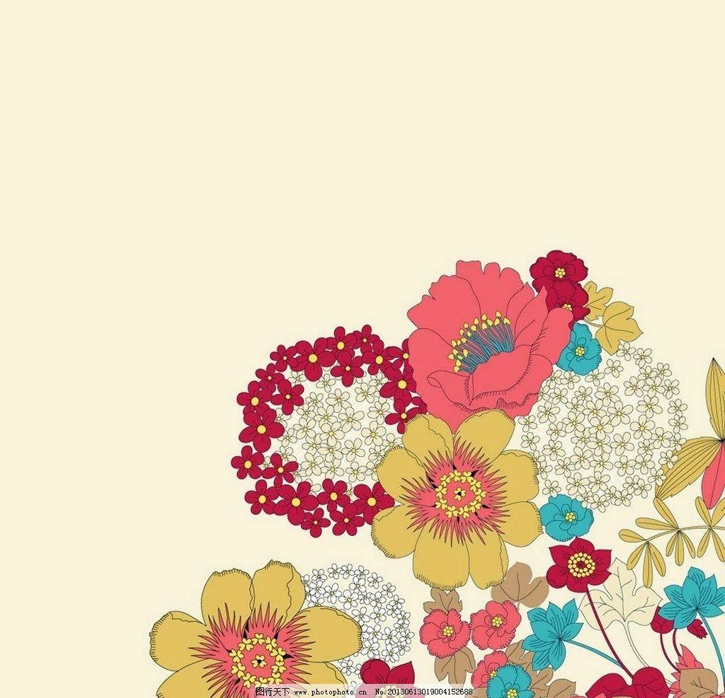 装饰花边 花 花瓣 装饰 彩色 手绘 素材 绘画书法 文化艺术 设计 72