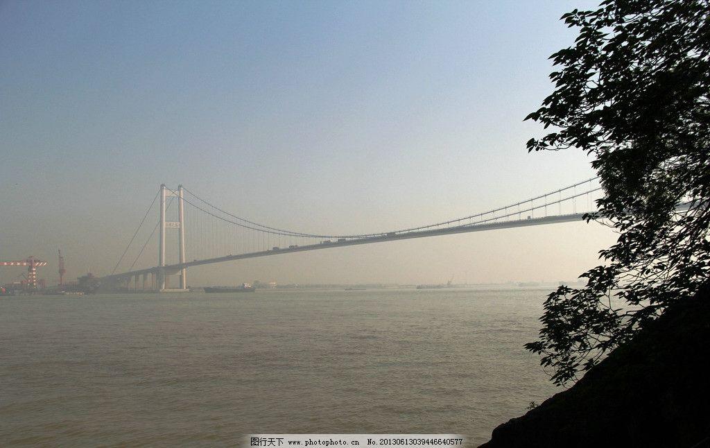 江阴长江大桥 建筑 风景 标志 建筑摄影 建筑园林
