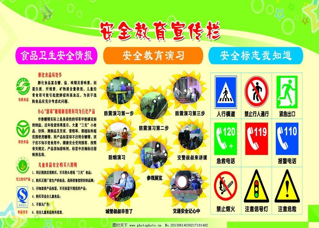 2018年森林防火宣传栏