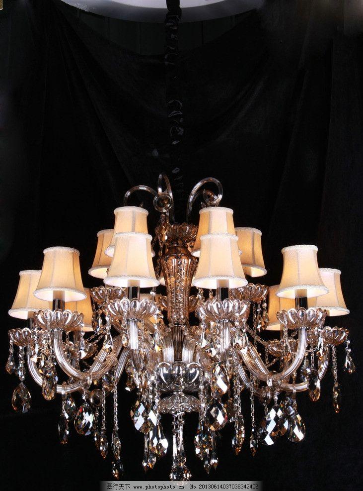 欧式水晶灯 全铜灯图片