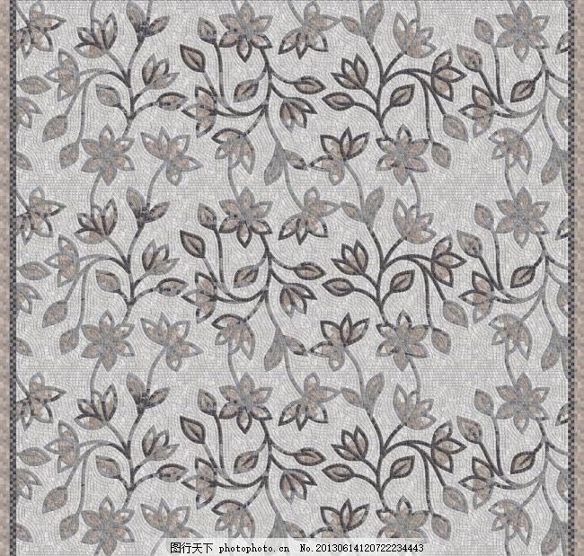 装饰 马赛克拼花 纹理 材质 贴图 其他 建筑园林 摄影 72dpi     灰色