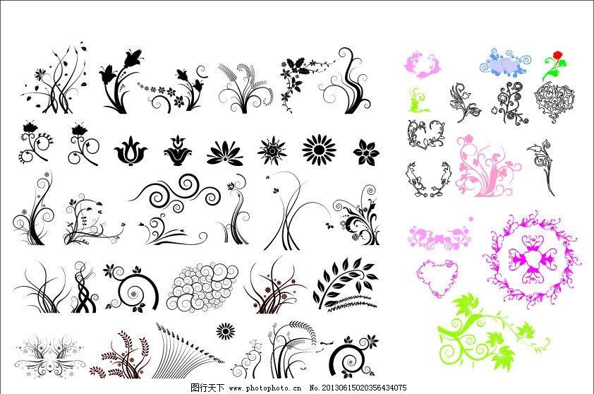 欧式古典花纹 中式花纹