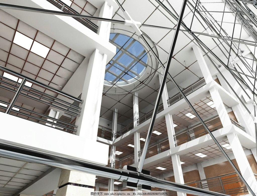 钢结构公装效果图 钢 结构 公装 立体        建筑设计 环境设计 设计