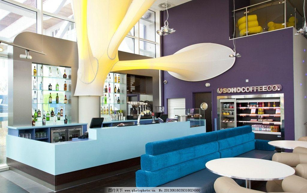 酒吧 商店 便利店 内饰 装饰 吧台 餐桌 美酒 饮料 设计 创意 超市