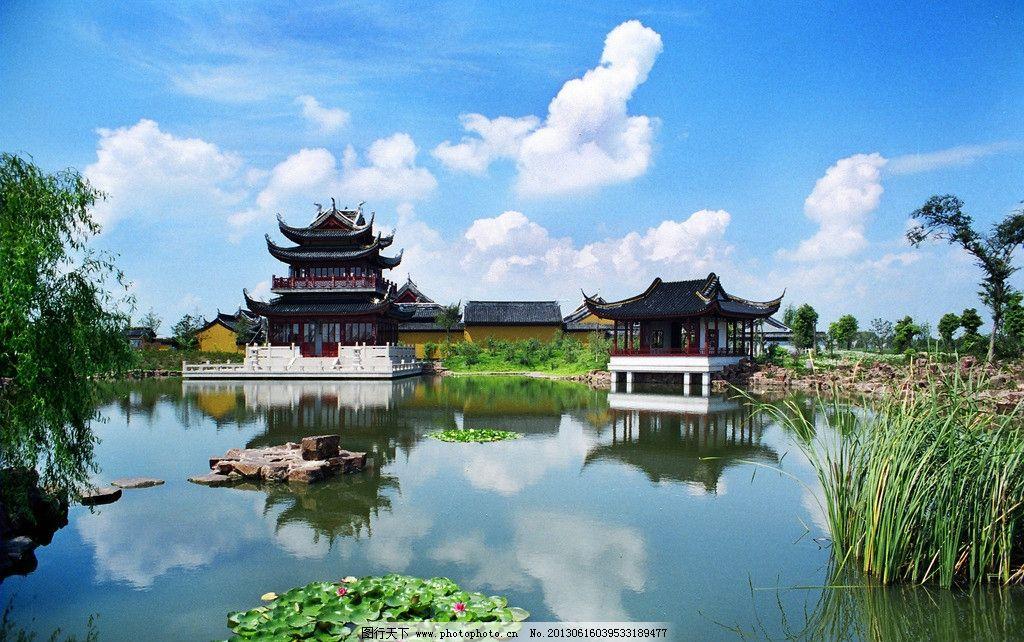 苏州园林 苏州园林风景 江南水乡 苏杭古建筑 湖水 江南特色建筑