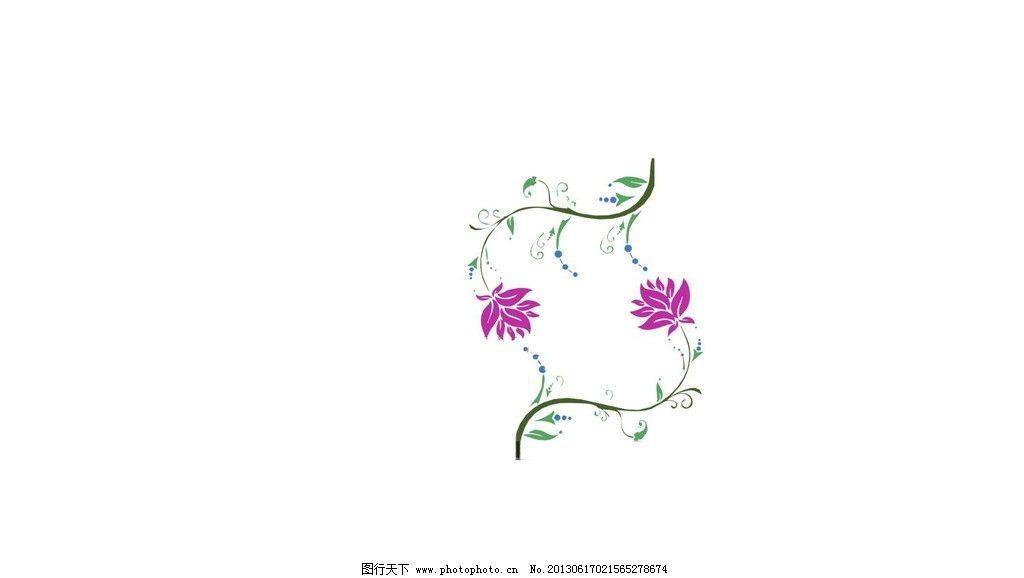 墙体彩绘 花 红花 3d墙绘