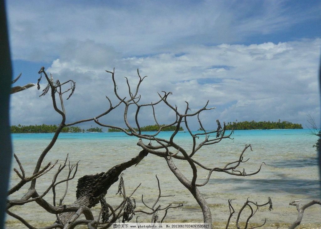 大溪地海滩 荒岛 海滩 大溪地 海岸 沙滩 国外旅游 旅游摄影 摄影 72