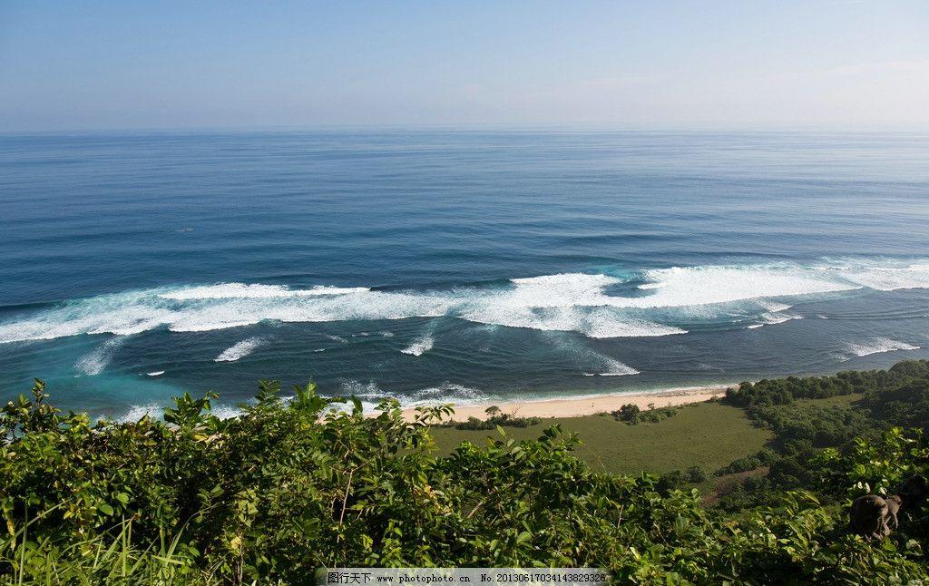 巴厘岛美景 海边图片