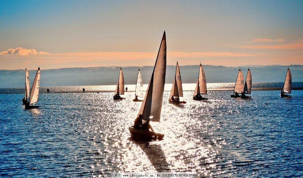 海边风景 自然风景 风景壁纸 海滩 海浪 沙滩 船只 帆船 摄影