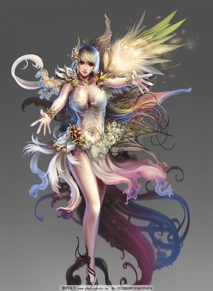 游戏人物 游戏 cg cg美女 原画 游戏原画 动漫人物 美女 精灵 动漫
