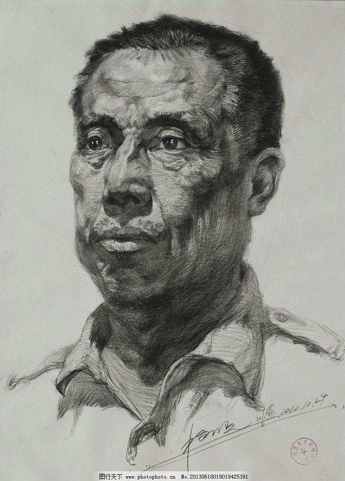 素描 男头像设计素材 男头像模板下载 男头像 绘画 美术 艺术 人物