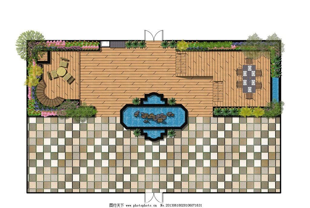屋顶绿化 无顶 绿化 屋顶 景观 设计 木结构 景观设计 环境设计 300