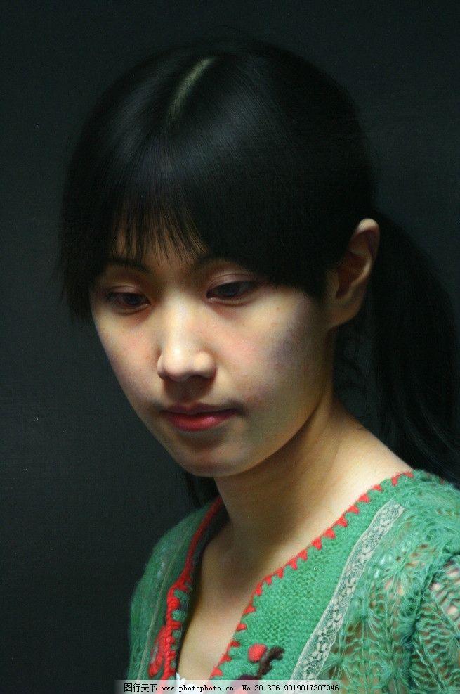 油画美女 冷军 古典美女 美女 油画 写实油画 古典油画 超写实 艺术