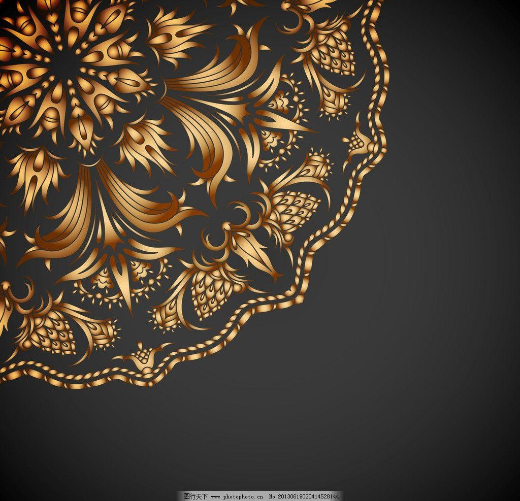 线条 墙纸 壁纸 丝织 无缝 手绘 时尚 潮流 梦幻 背景 底纹 矢量 欧式