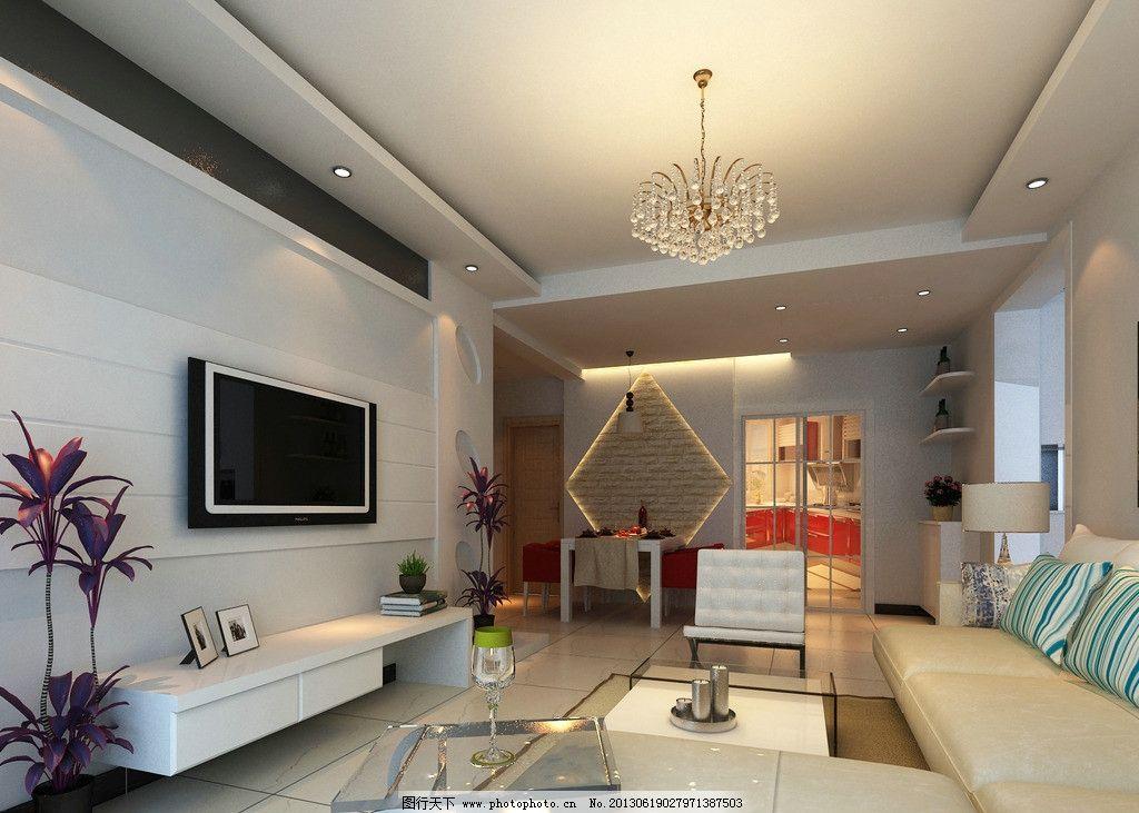 客厅效果图        装饰 装修 墙面造型      餐厅 茶几 沙发 室内