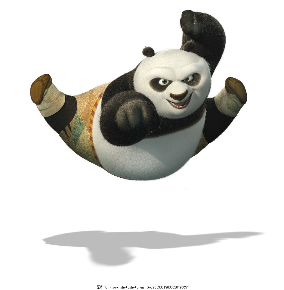 功夫熊猫 功夫熊猫场景素材下载 功夫熊猫场景模板下载 功夫熊猫场景