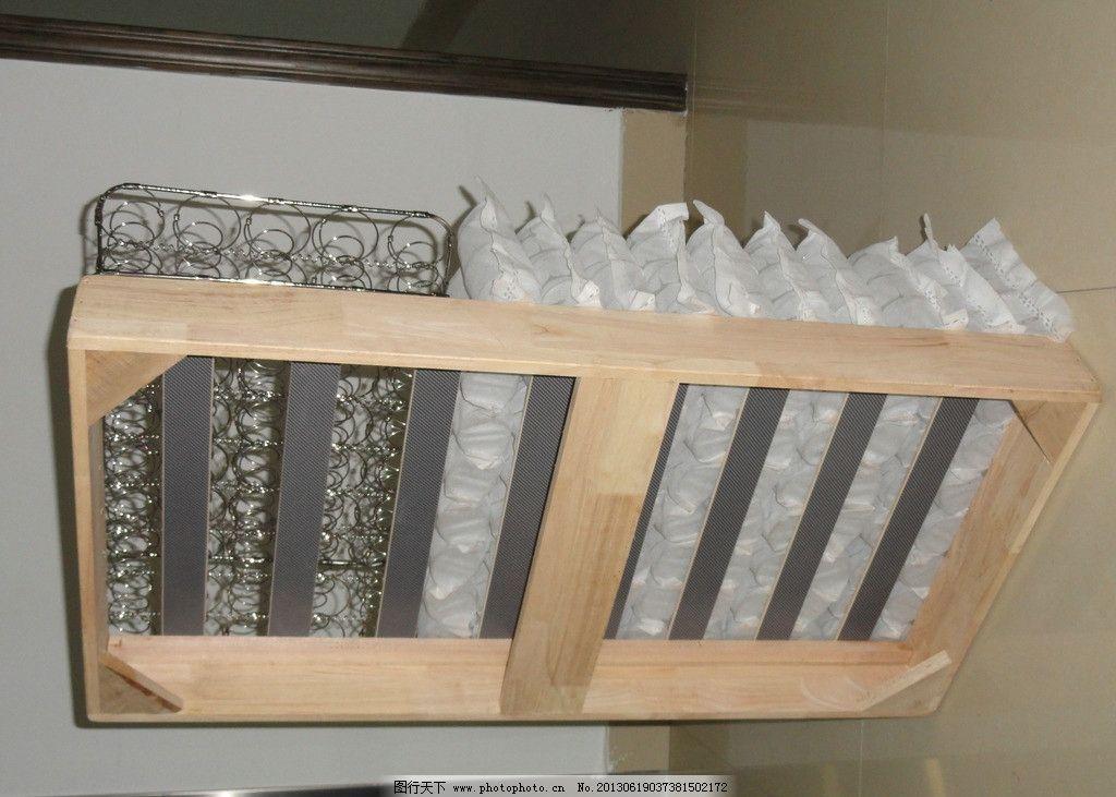 床垫内部结构图