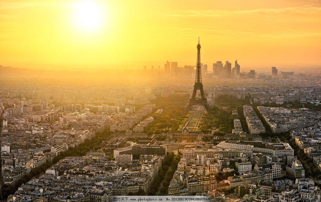 艾菲尔巴黎铁塔图片_建筑摄影