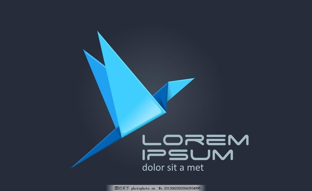 logo图标,图标图标 千纸鹤 商业图标 网页设计素材-图