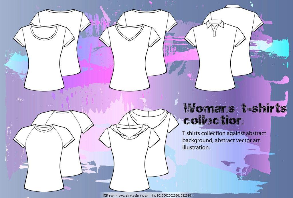 外套 服装设计 t恤效果 休闲服饰 夏日服饰 矢量 eps 生活用品 生活