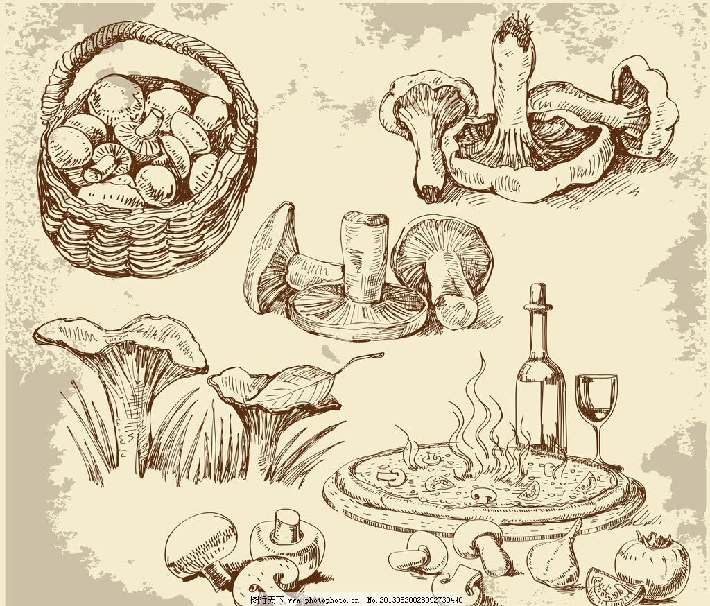 手绘食物图片_建筑设计_环境设计_图行天下图库