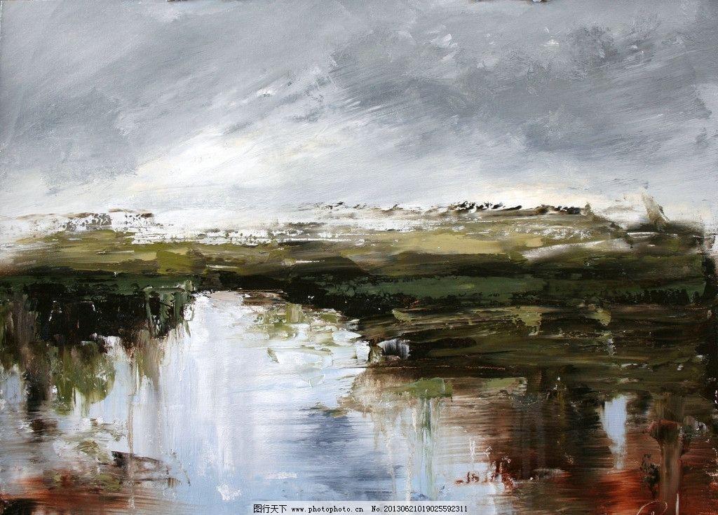 油画风景 油画 艺术 绘画 油画艺术 手绘 高清壁纸 壁纸 当代油画