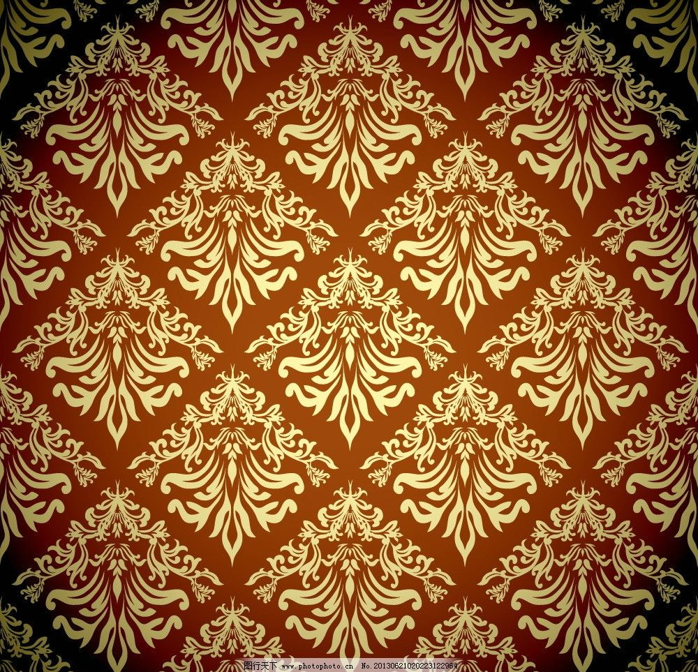 欧式花纹 金色花纹 边框花边 文本框 装饰边框 古典 复古 卡片