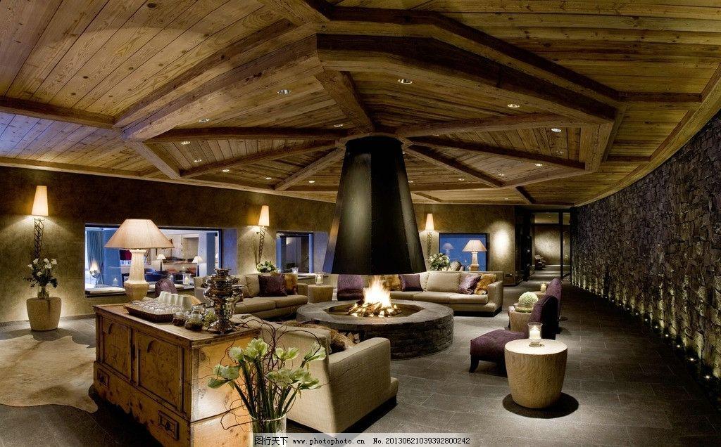 大厅 别墅 豪宅 家具 沙发 台灯 花瓶 建筑 欧式 室内 室内摄影