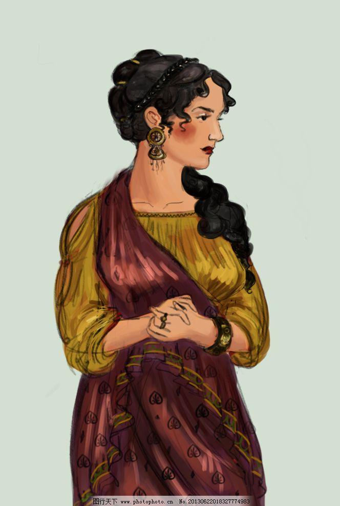欧洲中世纪服饰图片图片