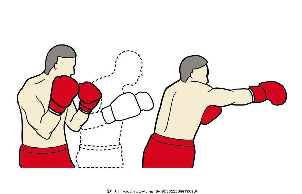 拳击动作指导图图片