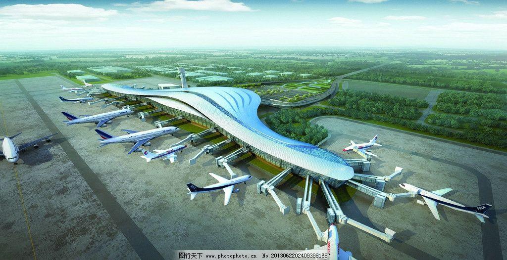 烟台飞机场图片