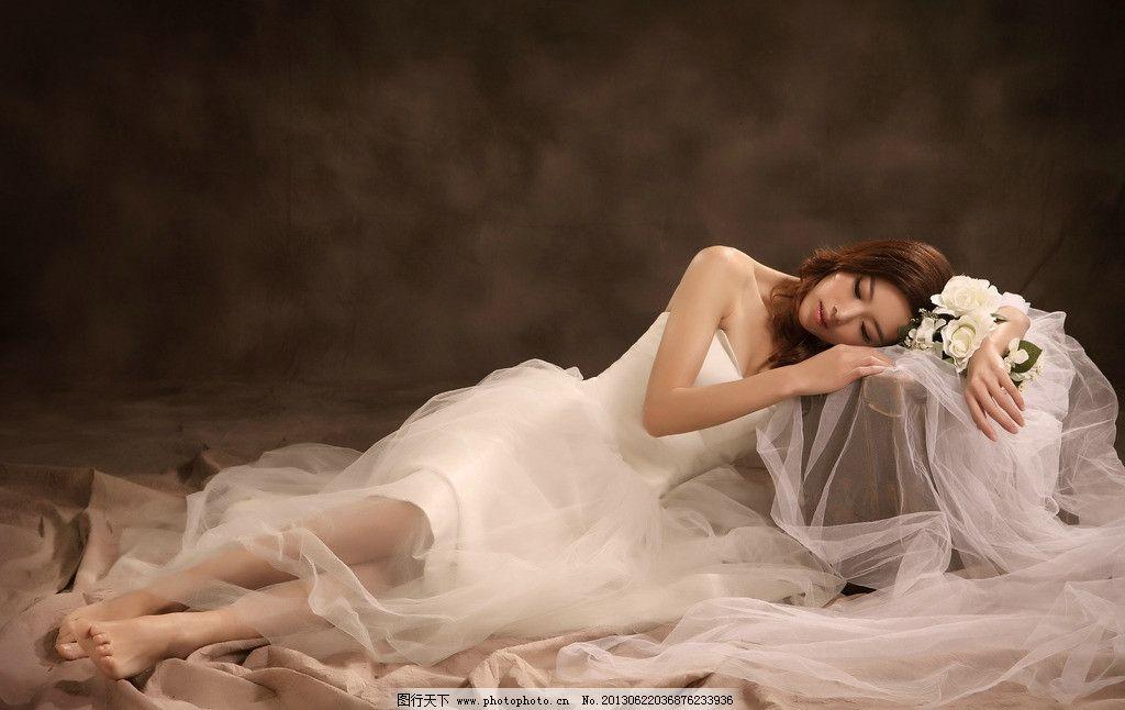 美女 唯美 复古 性感 睡美人 女性女人 人物图库 摄影 300dpi jpg