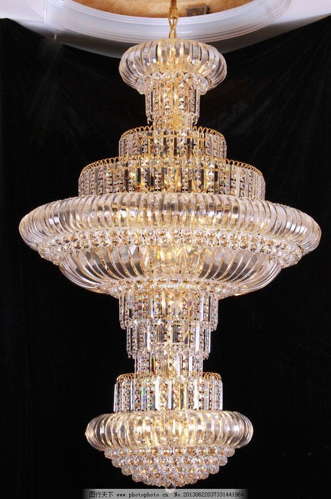 水晶灯 珠串 水晶 水钻 玻璃 欧式 西式 精致 装饰 装修展示 灯饰展示