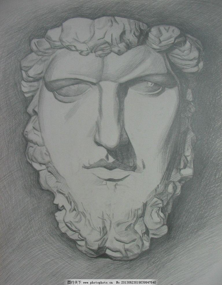 石膏绘画步骤图解