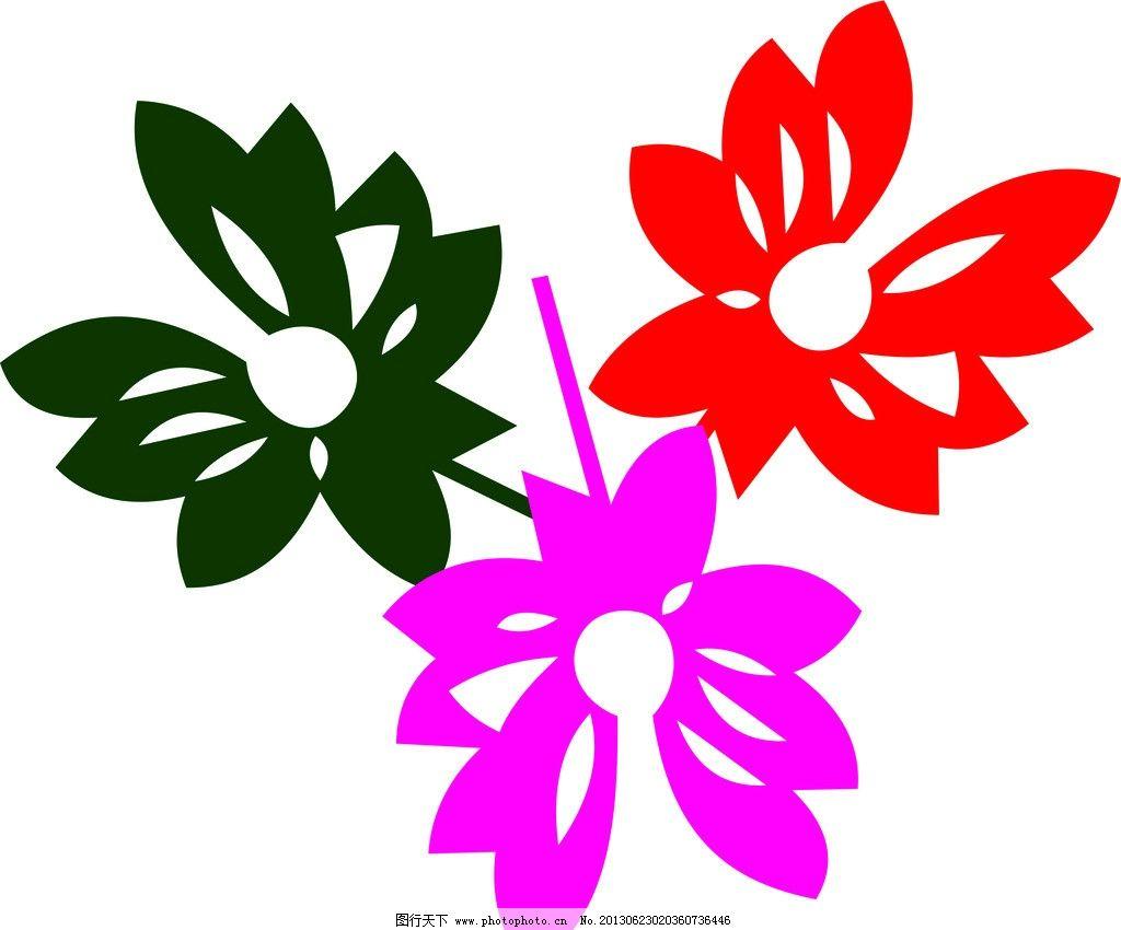 装饰花纹 叶子 欧式花纹 韩式花纹 经典花纹 手绘花儿 花纹花边 底纹