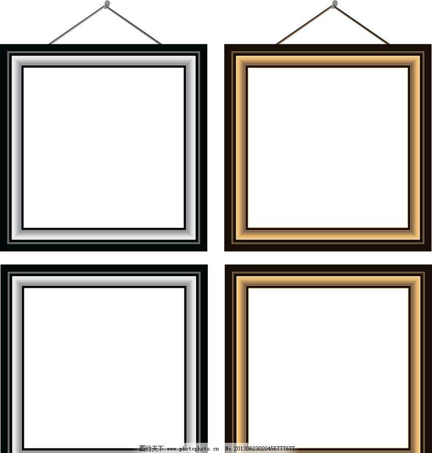 矢量简洁边框 花边 边框 简洁边框 欧式边框 欧式 边框相框 底纹边框