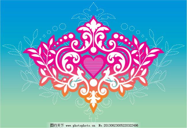 欧式古典花纹设计