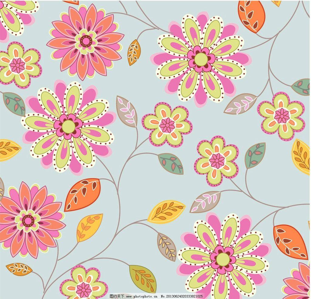 矢量花纹粉色 矢量花纹 粉色 韩国花纹 时尚 小鸟 花朵 月饼包装 花纹