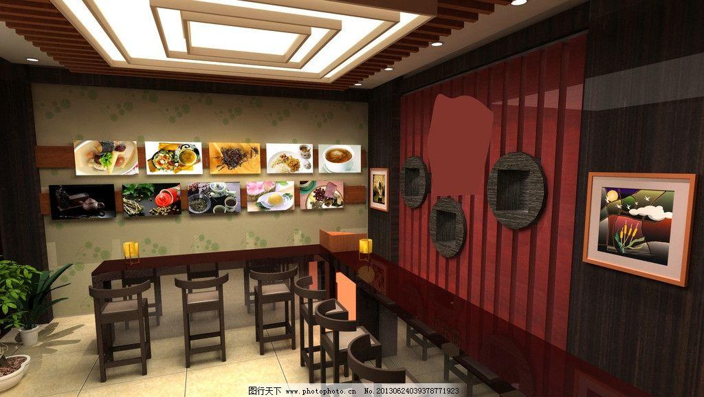 餐饮店设计 餐饮店 餐饮店室内装修        高档餐饮店 室内摄影 建筑