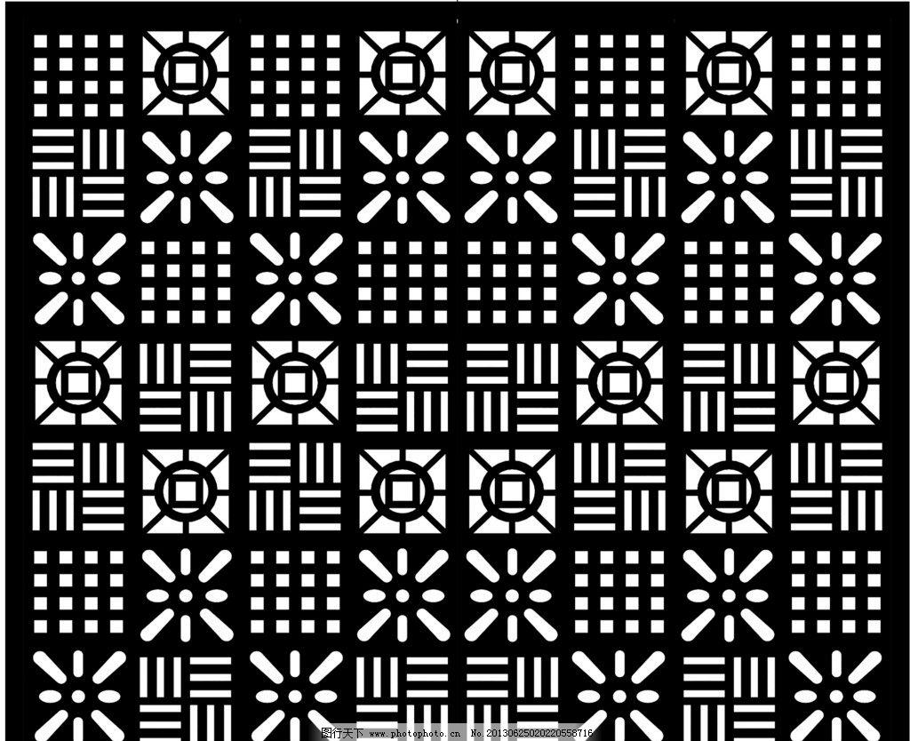 背景花纹 田田雕刻 花纹 背景 雕花板 黑白 背景底纹 底纹边框 设计
